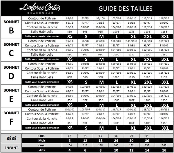 Cortés Des Dolores Tailles Online Guide 0PnOkw